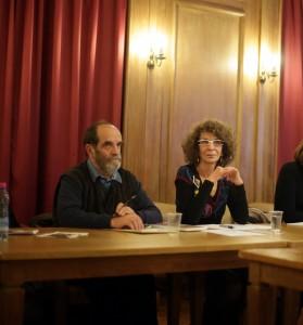 Alban Poirier et Yolande Josèphe, le 16 décembre 2013 - crédits : Rachel Van de Meerssche, Labex Arts H2H