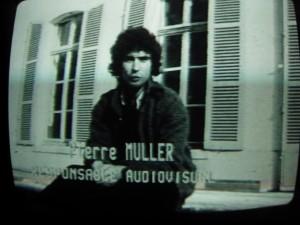 Pierre Müller, responsable audiovisuel de la Maison de la Culture d'Orléans, interrogé par FR3