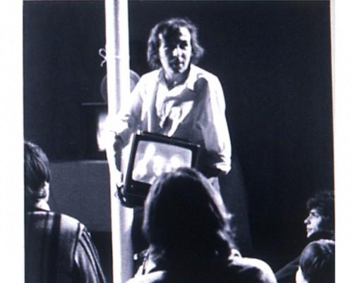 """""""Vidéopérette"""" (1978) - Photographie : Patrick Bousquet - Fonds Michel Jaffrennou / BnF"""